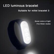 Модный стиль светодиодный светильник браслет светится Rave USB перезарядка 10 цветов фестиваль свадебные вечерние украшения 49