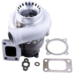 Image 1 - GT35 GT3582 GT3582R Turbo for R32 R33 R34 RB25 RB30 T3 .70 .63 A/R Turbocharger Turbolader Universal Anti Surge
