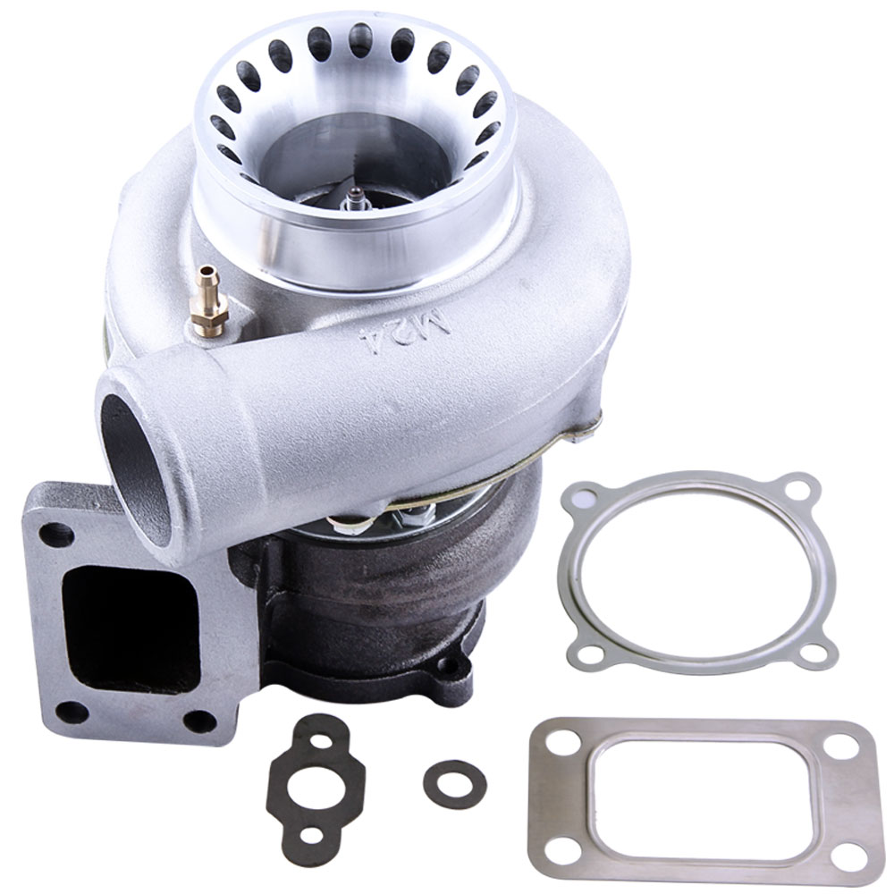 GT35 GT3582 GT3582R Turbo pour R32 R33 R34 RB25 RB30 T3. 70. 63 A/R turbocompresseur Turbolader universel Anti surtension
