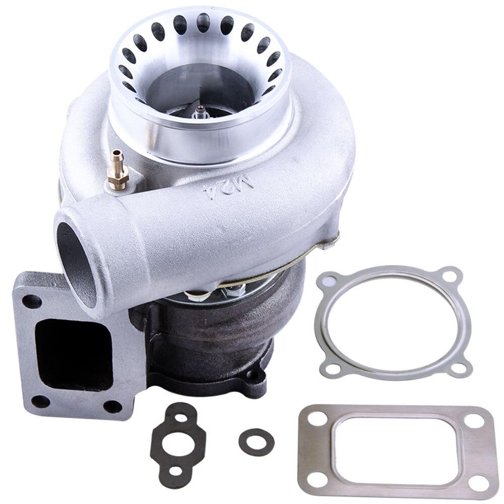GT35 GT3582 GT3582R Turbo pour R32 R33 R34 RB25 RB30 T3. 70. 63 A/R turbocompresseur Turbolader universel Anti surtension