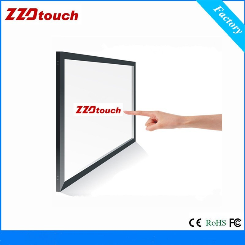 high resolution 18 5 inch waterproof and dustproof infrared multi touch screen frame