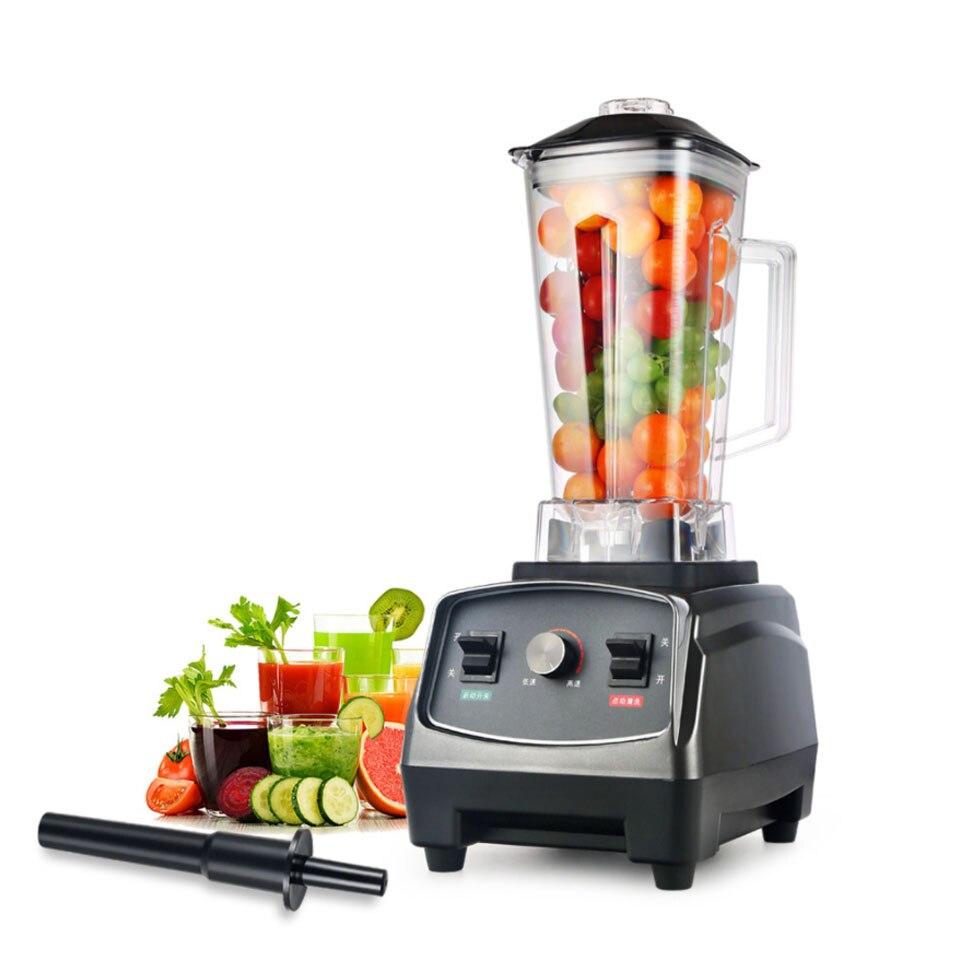 2L large capacity Heavy Duty Commercial Grade Blender Mixer Juicer High Power Food Processor Ice Smoothie Bar Fruit Blender|Blenders| |  - title=