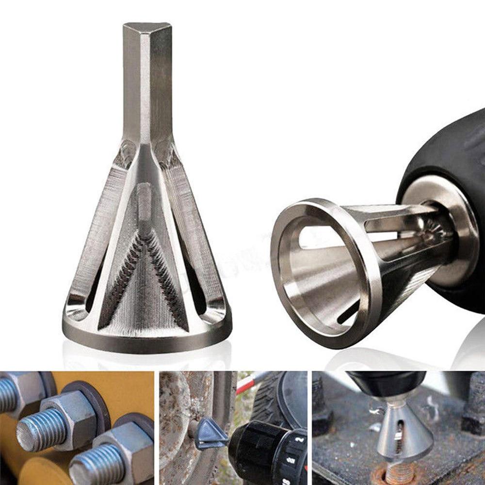 Deburring External Chamfer Tool Metal Remove Burr Tools for Chuck Drill Bit Set
