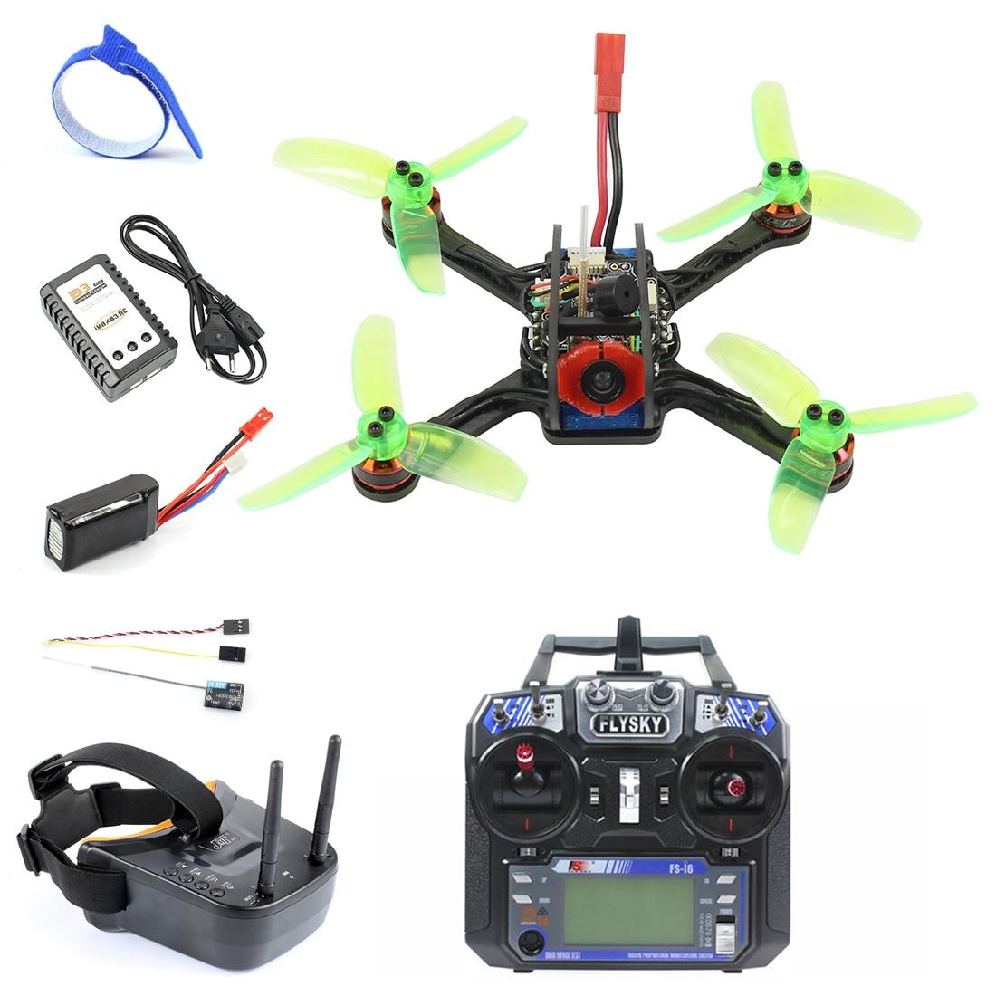 Oyuncaklar ve Hobi Ürünleri'ten RC Helikopterler'de Mini 120mm F3 OSD 2 S RC FPV Yarış Drone Quadcopter 700TVL Kamera VTX Gözlüğü 10A ESC 7500KV Fırçasız 2.4G 6ch BNF RTF Set'da  Grup 1