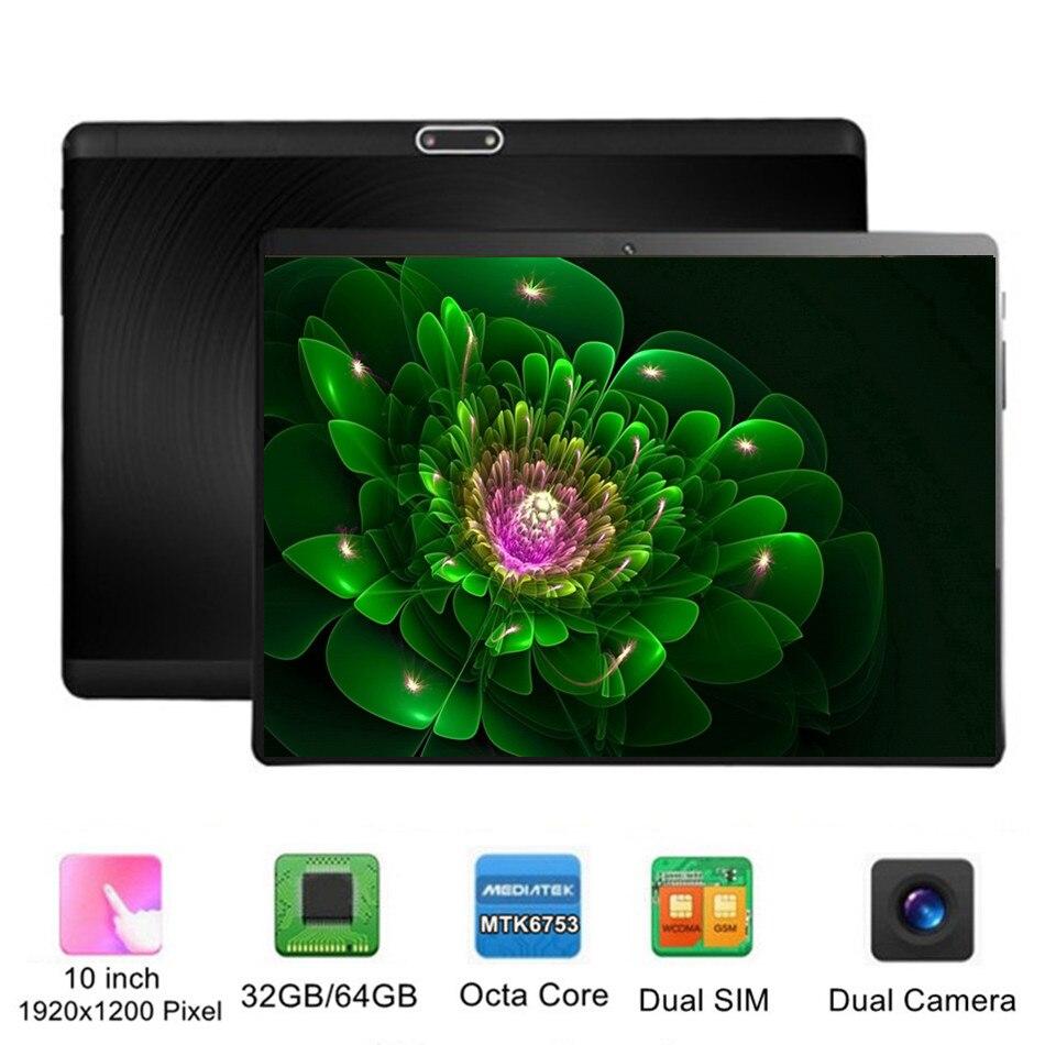 Ordinateur International 10 pouces tablette PC Octa Core Android 32 GB 64 GB 8 Core 7 8 9 10 10.1 résolution 1920x1200