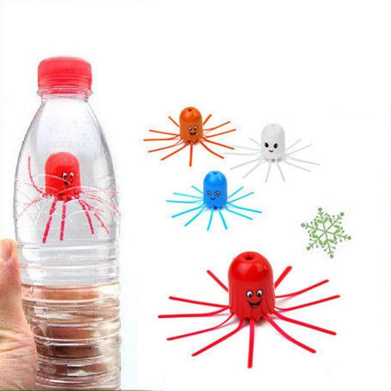 Magical Jellyfish Float Fun Educational Science Pets Toy Gift For Kids Children Random Color Squeeze Bottle Float Up And Down