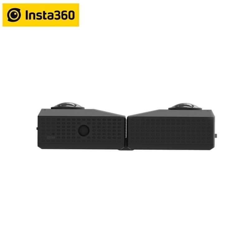 Insta360 EVO 5.7 K vidéo 180 3D VR/panoramique Insta 360 caméra pour Android et iPhone XS/Xs Max/XR/X/8/8 plus/7/7 plus/6 s/6 s plus