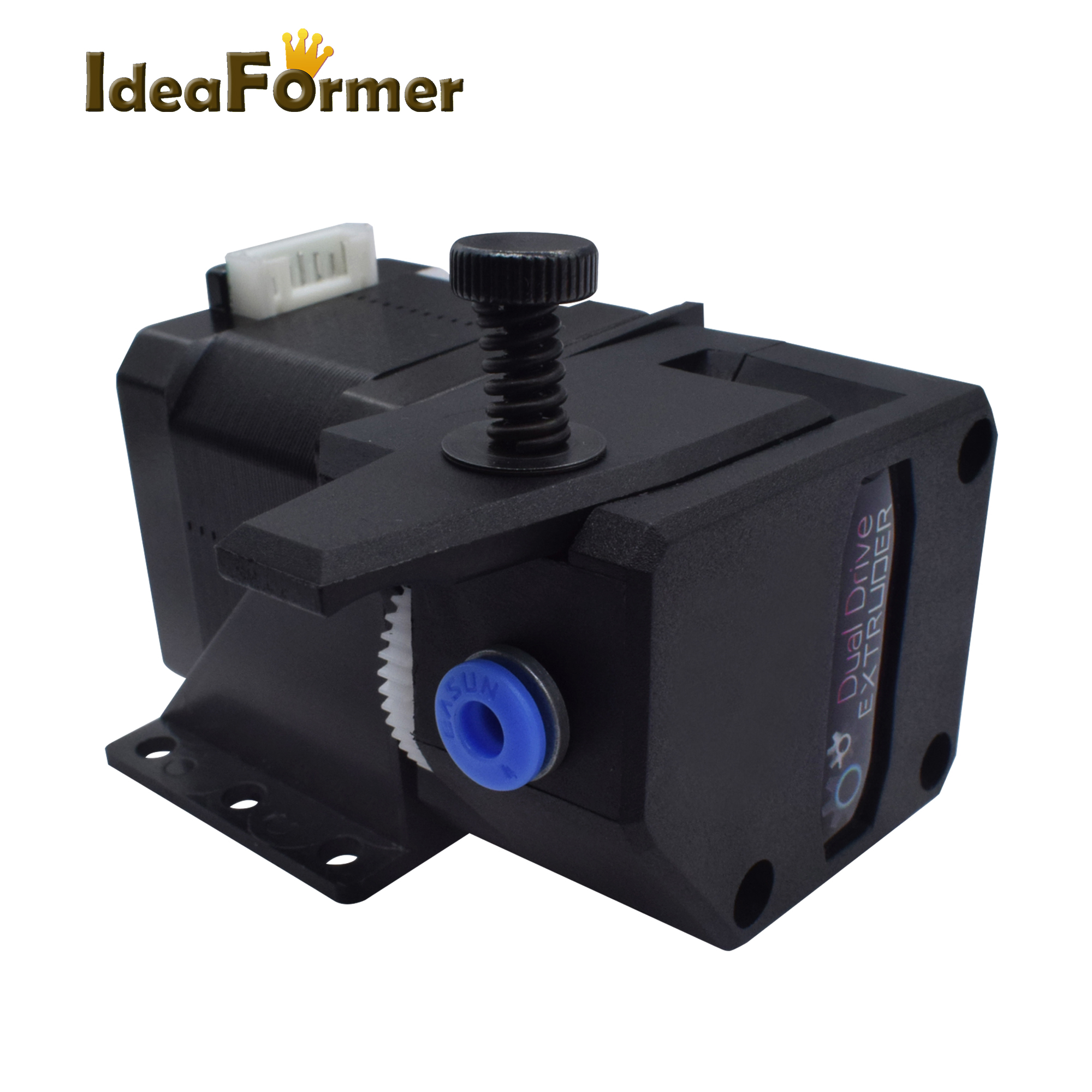 BMG Double Gear Dual Drive Extruder Bowden feeder With 34 high motor BMG Clone Btech Best Performance for 3D Printer Parts in 3D Printer Parts Accessories from Computer Office
