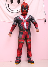 Halloween Deadpool Costume Boy Superhero Fantasia Fancy Dress