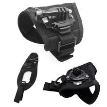 New 360 degrees Rotation Protection Hand Wrist Strap Mount For GoPro Hero 6/5/4/3 +/3 for Go Pro SJCAM(China)