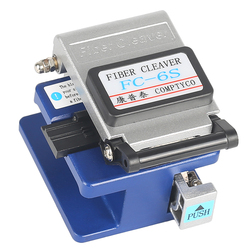 Alta precisão FC-6S fibra cleaver conector de fibra óptica cleaver, usado em fttx ftth frete grátis. enviar shatter-resistente saco