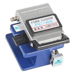 Conector de Fibra Óptica Cleaver High Precision Fiber Cleaver FC-6S, Usado em FTTX FTTH Frete Grátis. enviar saco de quebrar-resistente