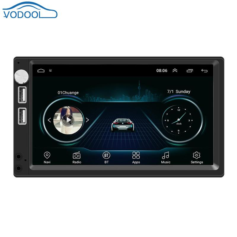 7 Inch Touch Screen Car Multimedia Player Android 8.1 Car Stereo MP5 Player GPS Navigation Support DVR Driving Recorder7 Inch Touch Screen Car Multimedia Player Android 8.1 Car Stereo MP5 Player GPS Navigation Support DVR Driving Recorder