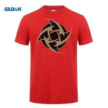лучшая цена GILDAN  Different Colours High Quality Men's Csgo Team Ninjas In Pyjamas Logo Tee Shirts Black