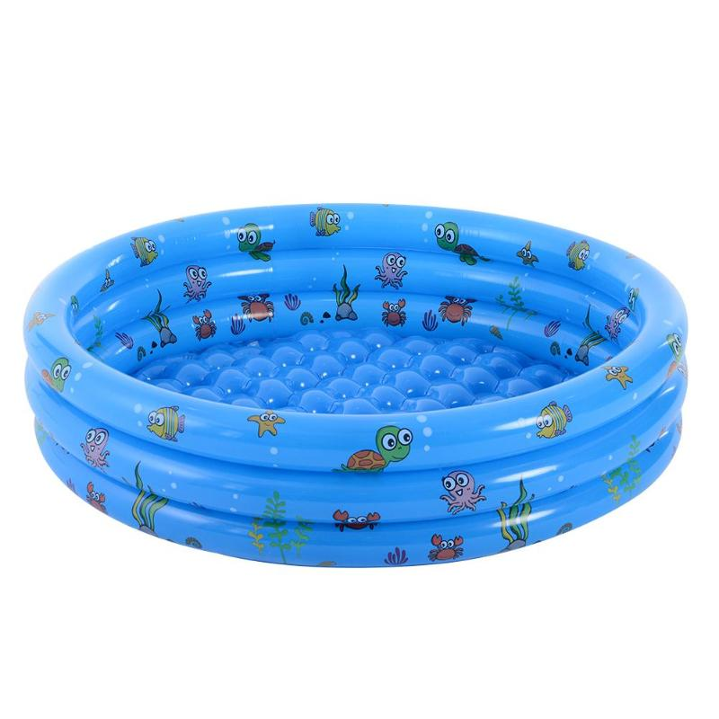Impression Nouveau-Né Bébé baignoire avec douche Gonflable Enfants Salle De Bains Piscine