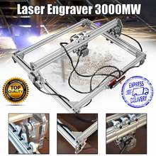 15 W/3000 MW 50*65 Cm CNC Laser Pengukir Engraving Machine untuk Metal/Kayu Router/ DIY Cutter 2 Axis Engraver Desktop Cutter + Laser(China)