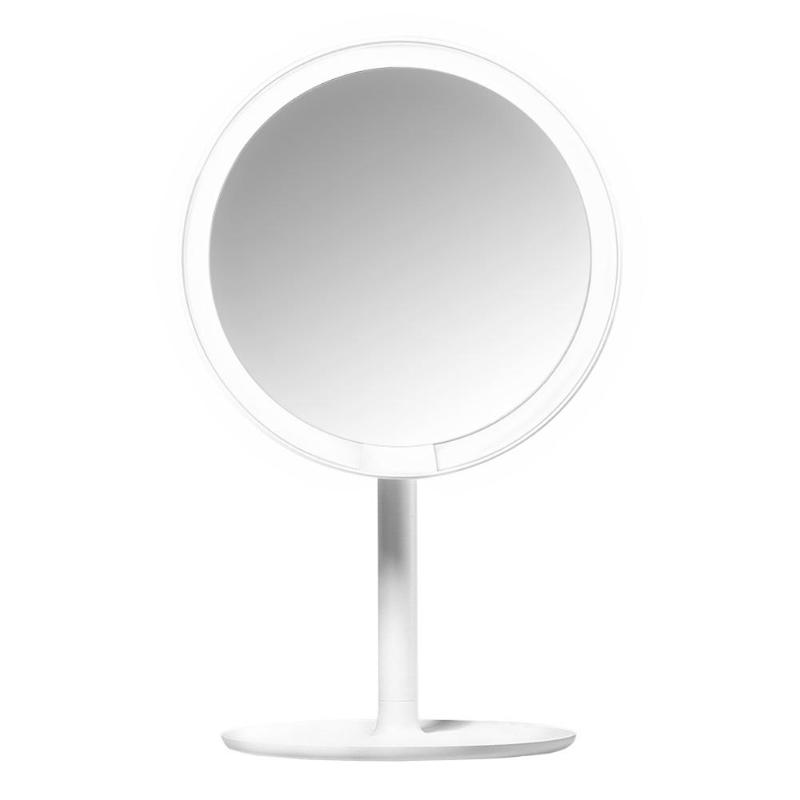 Professional 60 Degree LED Daylight Cosmetic Makeup Mirror With LED Lights Health Adjustable Mirror Cosmetic Beauty Makeup Tools