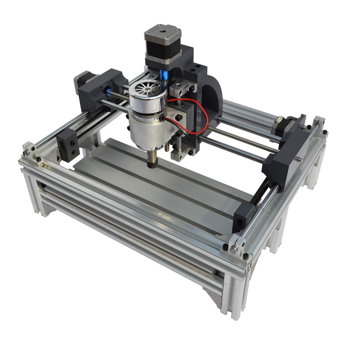 240x150x70mm 2415 CNC lourd routeur gravure sur bois Machine de découpe broche moteur graveur