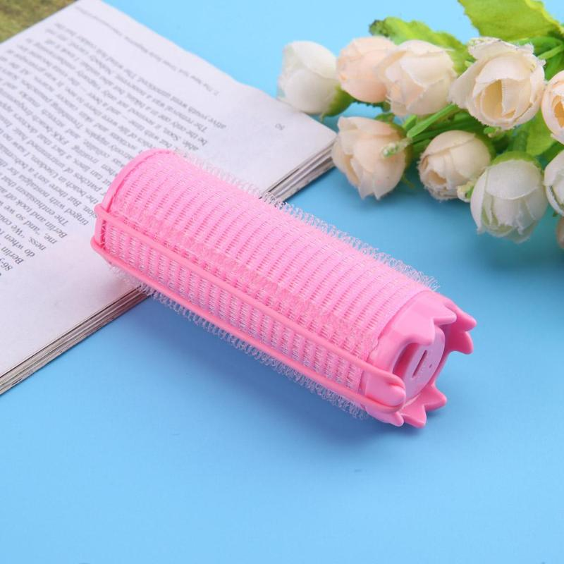 USB Rechargeable Self-Adhesive Hair Rollers Hairdressing Home Use DIY Large Styling Rollers Hiar Curler USB Heated Beauty Tool