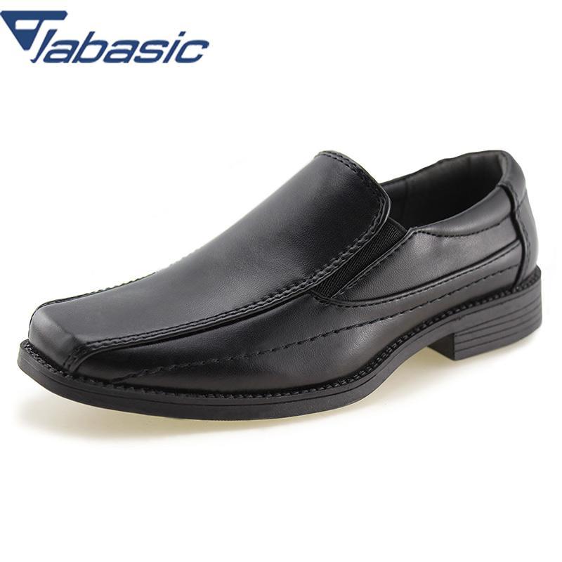 1354 30 De Descuentozapatos De Vestir De Uniforme Escolar Para Niños Jabasic Mocasines Oxford Deslizantes Zapatos Casuales De Cuero De Pu Suave