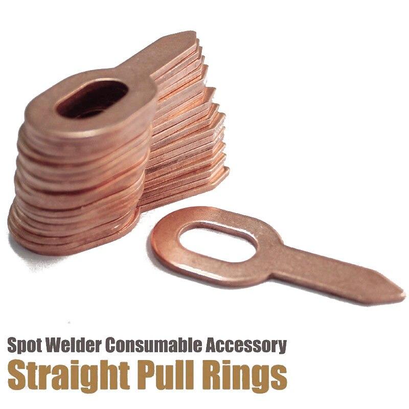 50XDent Puller Rings For Spot Welding Welder Car Body Panel Pulling Washer Tools