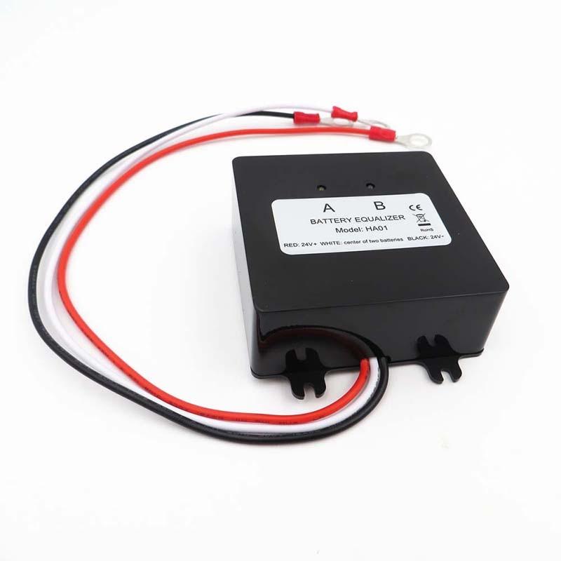 2*12V 0-5A Battery Equalizer For lead-acid Batteris Balancer For Gel Flood AGM2*12V 0-5A Battery Equalizer For lead-acid Batteris Balancer For Gel Flood AGM