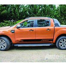 free shipping smountain adventure off road side door stripe graphic Vinyl car sticker for  Ford ranger