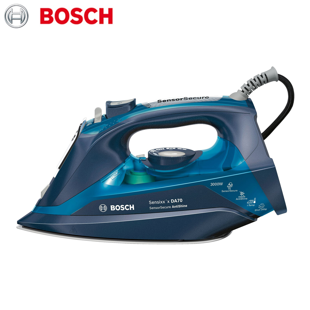 Electric Irons Bosch TDA703021A  household appliances laundry steam iron ironing clothes