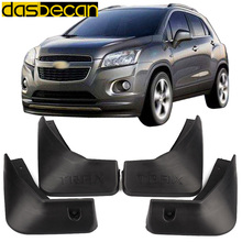 Dasbecan Car Mudguards For Chevrolet Trax 2012-2016 Fender Accessories Splash Guard Paneling 2013 2014 2015 hot sale car accessories steering wheel cover sticker case for chevrolet cruze trax hatchback sedan 2012 2013 2014