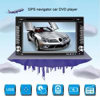 6.2 Car DVD Navigator 12 24V Car Universal Dropship Hands free 3360 Core Module 4 core Dual Decoding GPS Navigation