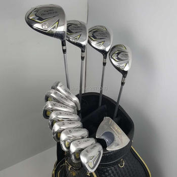 New HONMA Golf Clubs HONMA BEZEAL 525 club Set HONMA Golf drivers wood irons putter Graphite Golf shaft (no bag) Free shipping golf clubs honma bp 2001 golf putter 33 34 35 inches steel golf shaft and golf headcover free shipping