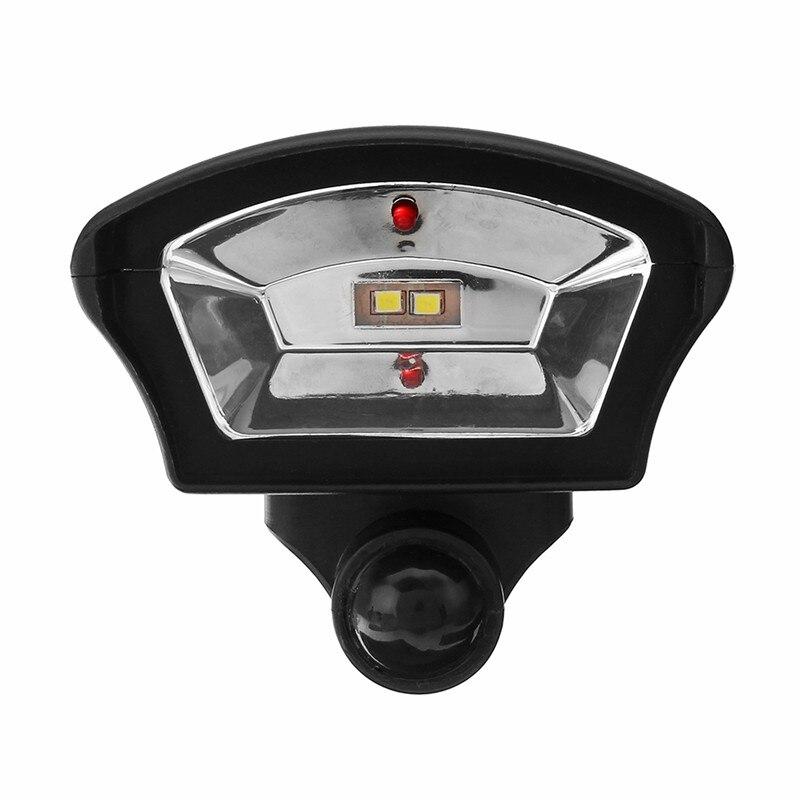CLAIR Led-straßenleuchte Power PIR Motion Sensor Solar licht Scheinwerfer Im Freien Garten Hof Simulation Überwachung Sicherheit Lampe