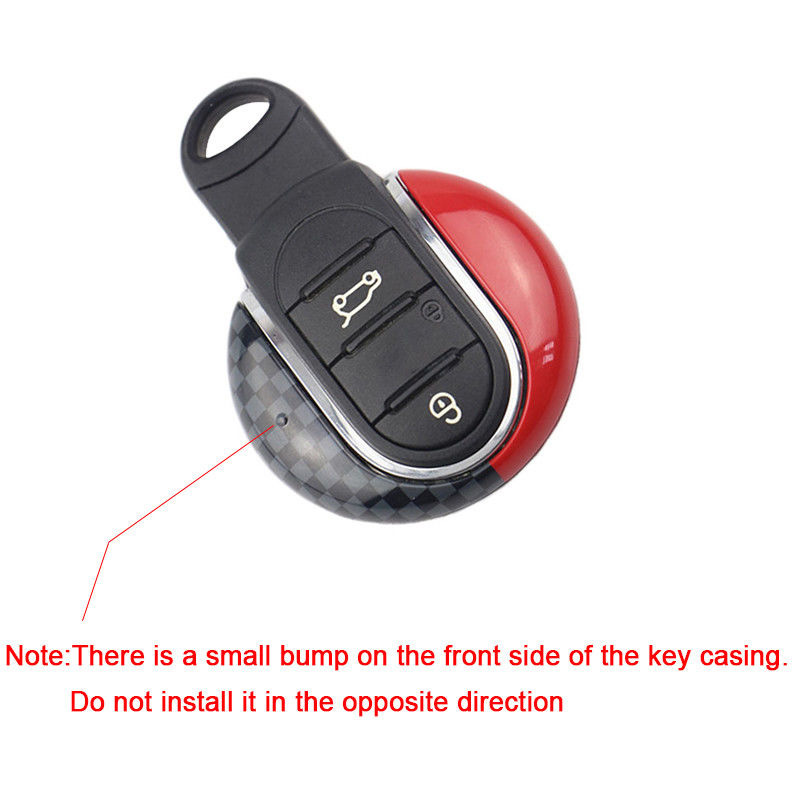 JCW Remote Smart Key Fob Holder Cover Accessory For 3rd Gen MINI Cooper 2014 Up