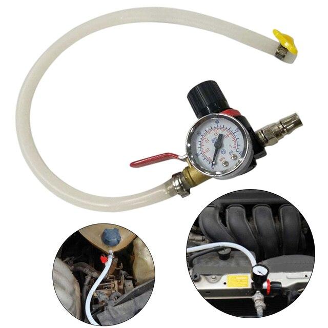 Car Cooling Radiator Pressure Tester Water Tank Detector Checker Tool Repair Kit