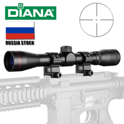 Tactical DIANA 4X32 luneta jedna tuba szklana podwójna celownik celownik optyczny celownik optyczny