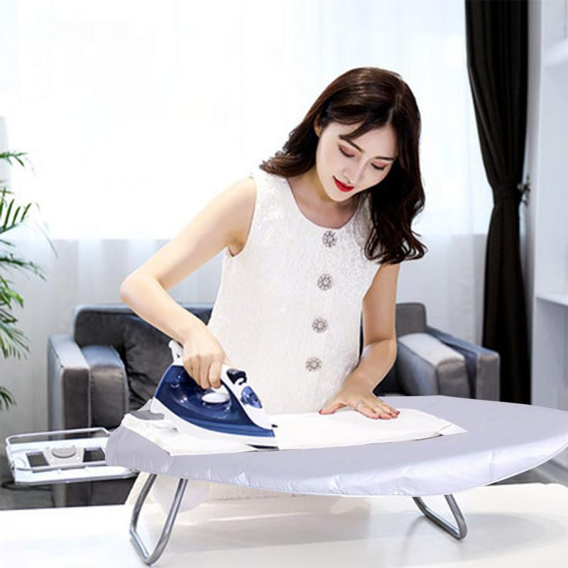 Ironing Board Heat Resistant Space Saving Ironing Board Ironing Table With Durable Breathable Tear Heat Resistant Cover