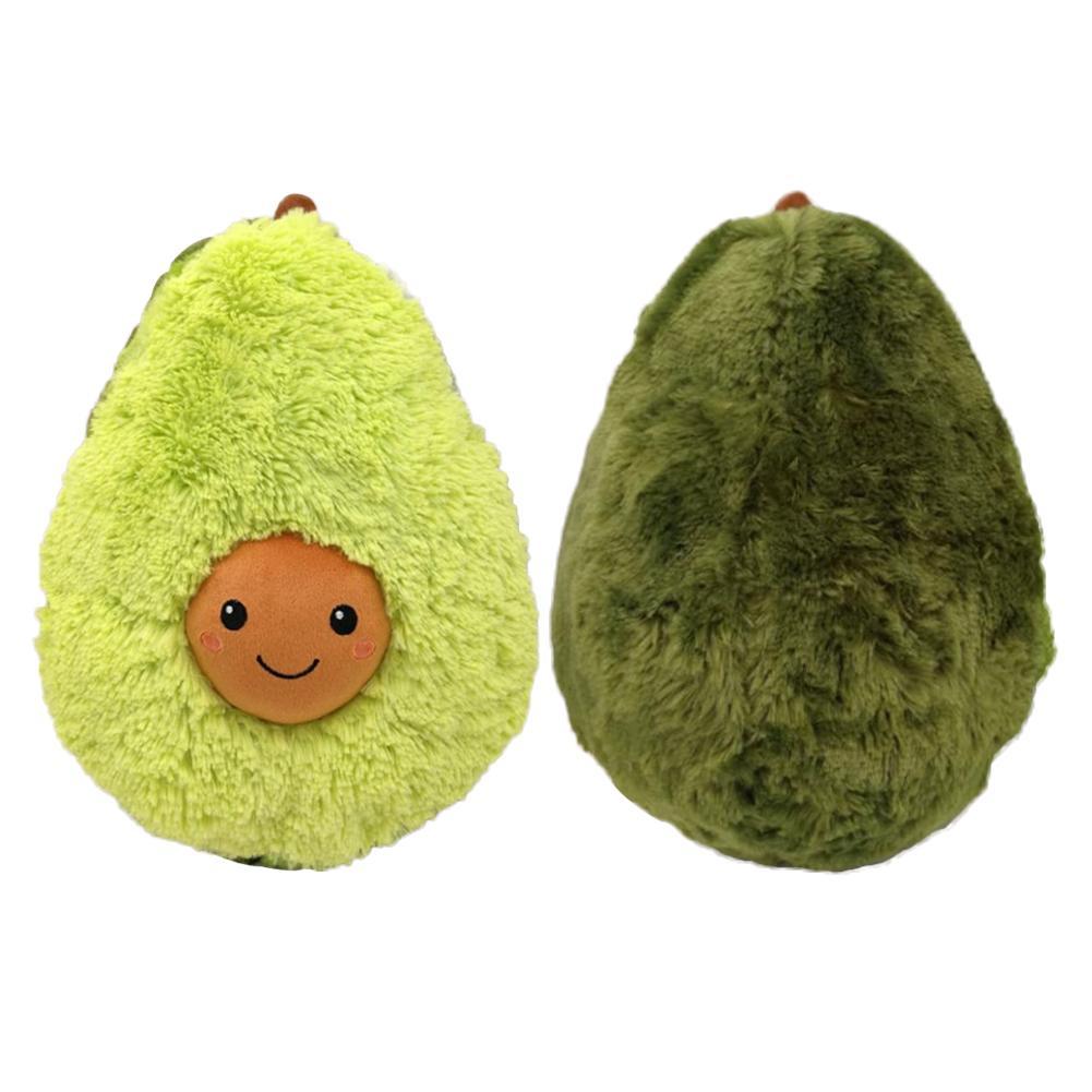 Avocado Vorm Grappige Kussen Knuffel Fruit Pop Speelgoed Voor Kinderen Meisjes