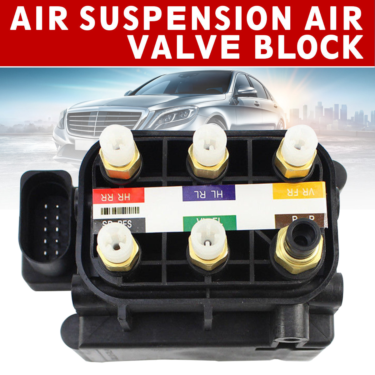 New Air Suspension Air Supply Air Suspension Solenoid Valve Block For Mercedes-Benz GL350 450 550 ML250New Air Suspension Air Supply Air Suspension Solenoid Valve Block For Mercedes-Benz GL350 450 550 ML250