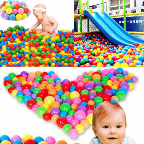 New Unisex Novelty Funny Safe 20/50/100pcs Quality Secure Baby Kid Toy Fun Colorful Soft Plastic Ocean Ball Water Balloons