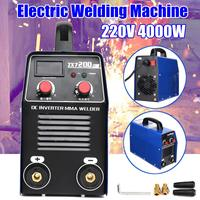 ZX7 200D 220V 10 200A 4000W IGBT Arc Welders Inverter Welding machine MMA ARC welding Welders Inverter machine With Connector