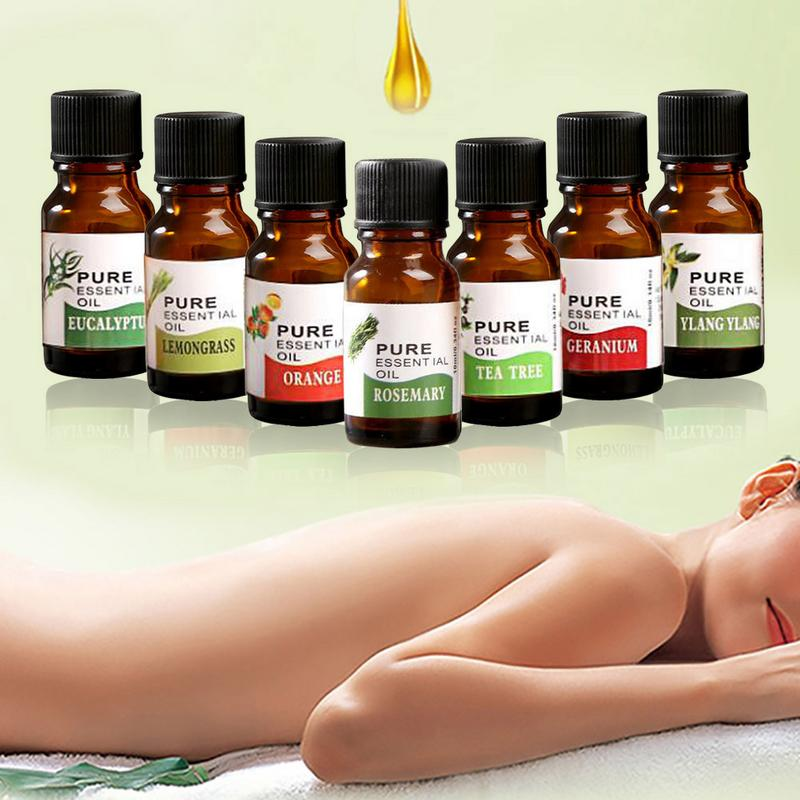 10ml Tea Tree Pure Essential Oils For Aromatherapy Diffusers Natural Essential Oil Skin Care Lift Skin Plant Fragrance Oil 40