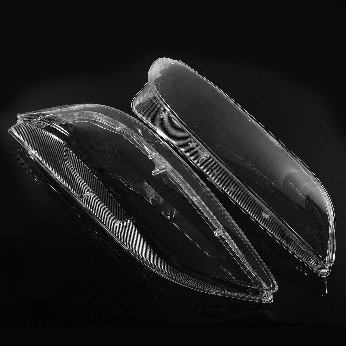 1 Pair Clear Car Lens Lamp Cover Hoods Headlight Head Light Lampshade Bright For Mazda 6