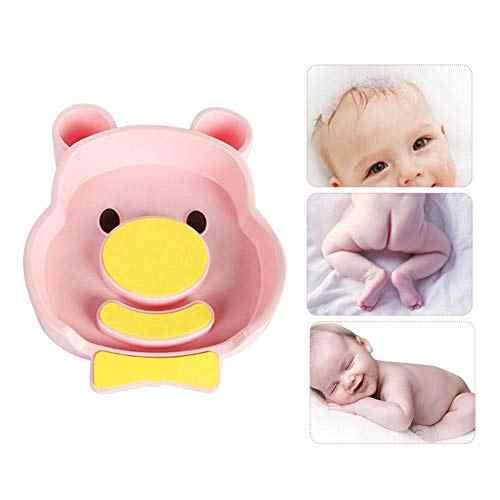 Bañera de baño de bebé portátil, 1 unidad, bonita bañera para bebés recién nacidos con bonitas viñetas de animales, lavabo de ABS, bañera con cabeza en el trasero, venta al por mayor # TC