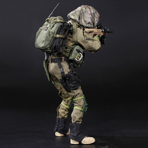 Image 4 - NFSTRIKE 30cm 1/6 Israeli Special Forces Movable Figure Military Soldier Model For Kids Adults Gift 2019 New