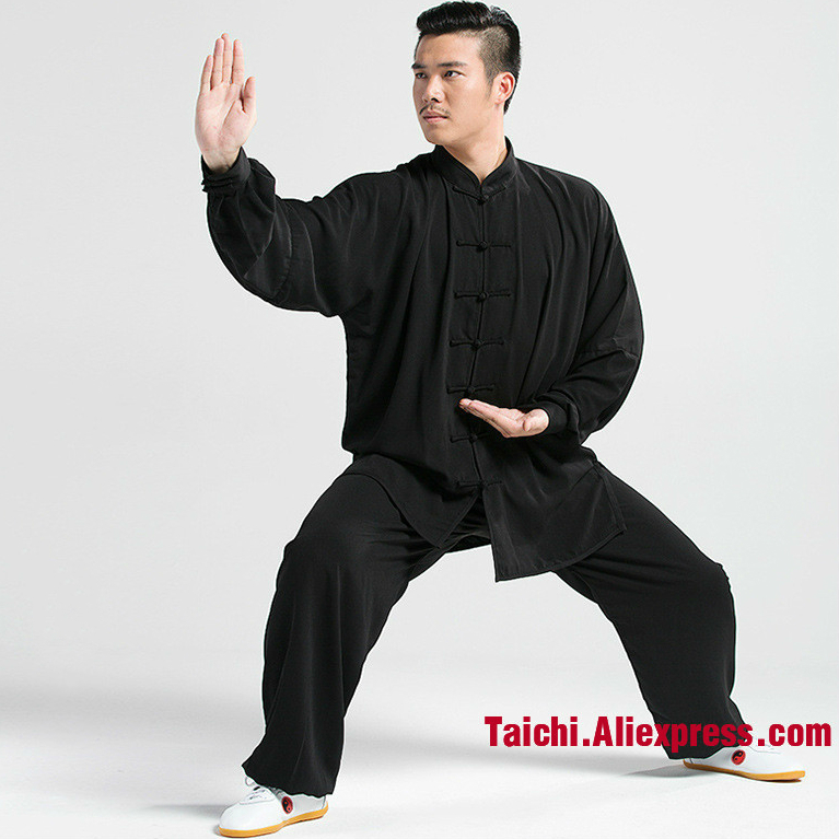 Tai Chi Uniform For Your Tai Chi Exercise  Kung Fu Clothing Unisex Hang Down Wu Shu Clothing 13 Colors S  M L XL XXL XXXL XXXXL