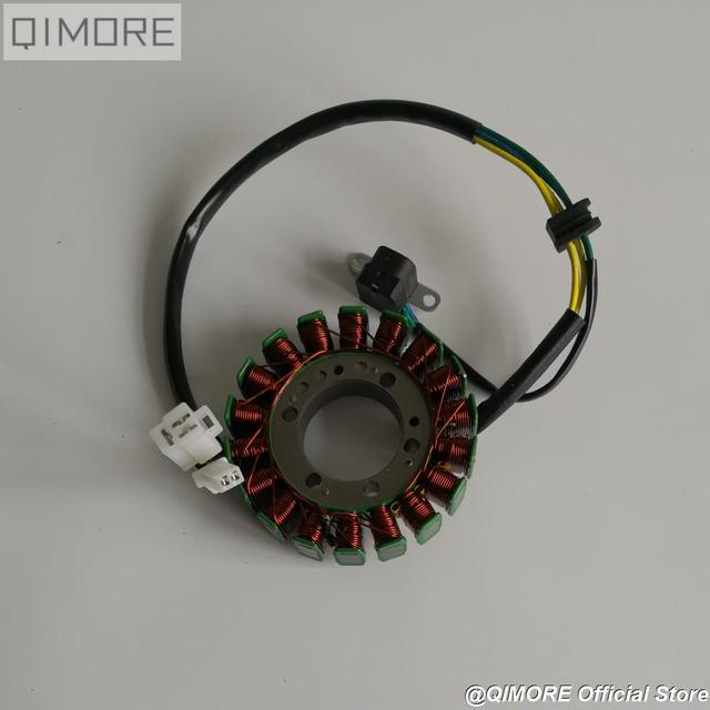 US $16 0 |104mm Magneto Stator with pickup for Scooter Majesty YP250 Linhai  VOG 250 257 260 300 LH170MM AEOLUS BMS 260 Diamo 257-in Motorbike Ingition