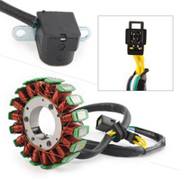 DC 12V Copper Motorcycle Magneto Engine Stator Generator Coil For Suzuki DR250R DRZ250 DRZ400 DRZ400E DRZ400SM