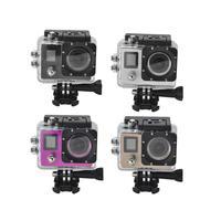 Pro Sports Action Camera 4K Ultra HD 30fps 1080p remote Wifi 40m Waterproof Camera 2.0LCD Double Screen mini Sport Camera