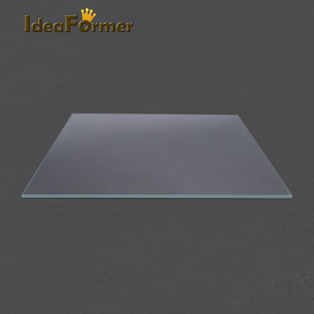 3D Printer Accessories Reprap MK2 Heat Bed Borosilicate Glass Plate tempered glass in good quality f