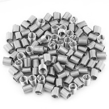 100 шт нержавеющая сталь 304 спиральная проволока винтовые вставки M8x1.25x2D длина резьбы ремонт спиральная вставка Инструменты для ремонта